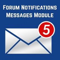 Forum-Notifications-Messages-Module