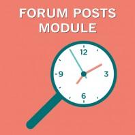 Forum-Posts-Module