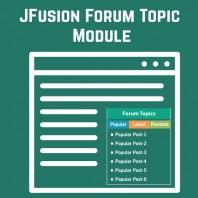 JFusion-Forum-Topic-Module