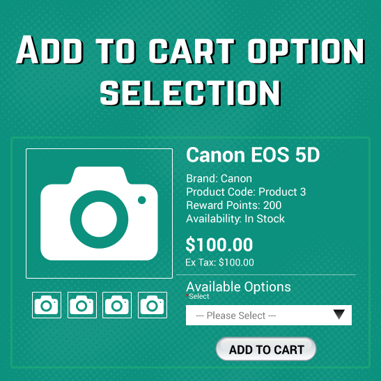 Add Options On Modules To Direct Add To Cart | OpenCart Extension for  Product Options