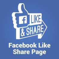 Facebook Like Share Page