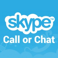 Skype call or chat