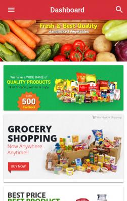 IONIC-2 Grocery