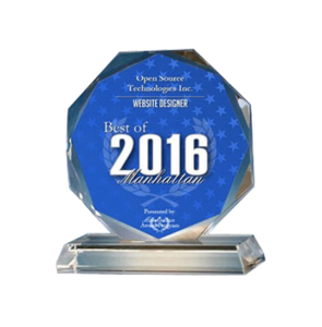 Open Source Technologies Inc. Receives 2016 Best of Manhattan Award