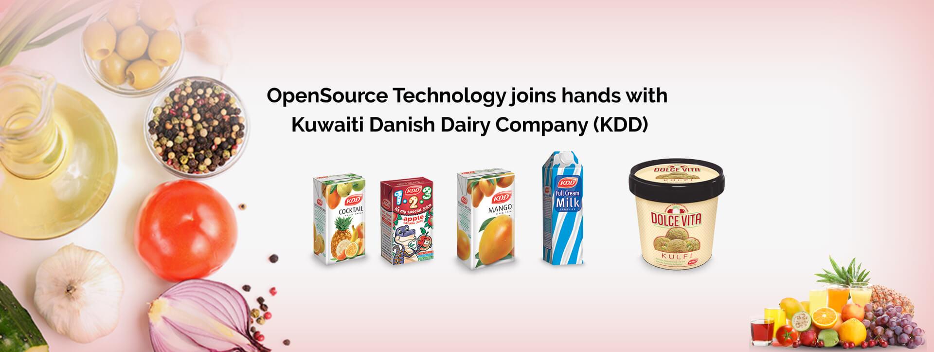 Kuwaiti Danish Dairy | OpenSource Technologies