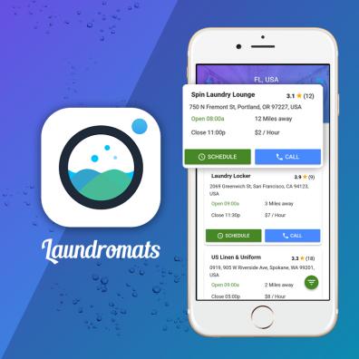 Laundromats-The laundry app