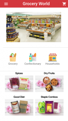 Grocery World Screen 4