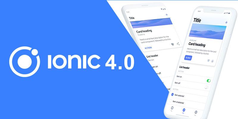 ionic 4.0